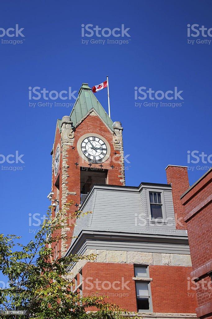 Collingwood Town Hall stock photo