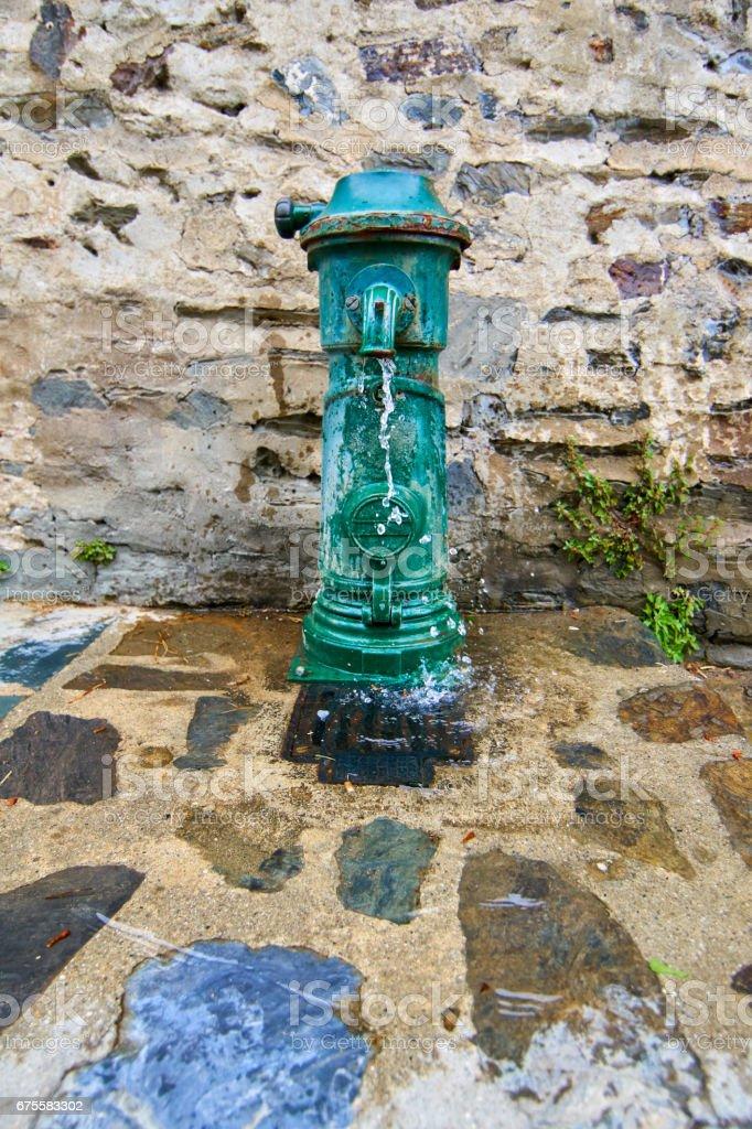 Fontaine de Collioure photo libre de droits