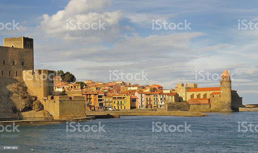 Collioure royalty-free stock photo
