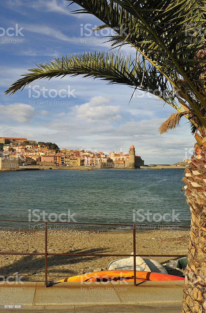 Collioure royalty-free stock photo