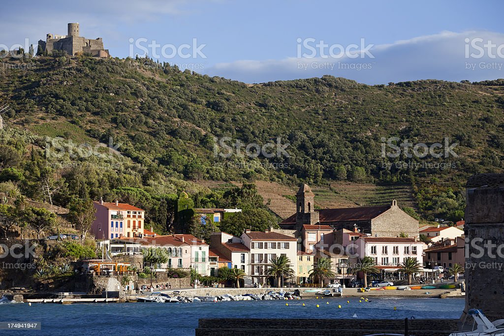 Collioure Roussillon royalty-free stock photo