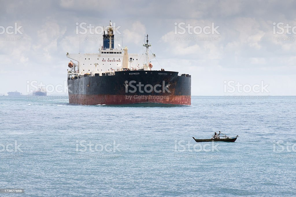 Collision Course royalty-free stock photo