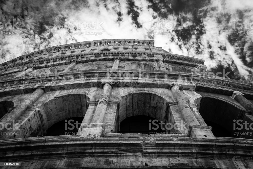 Colloseum, Rome, Italy stock photo