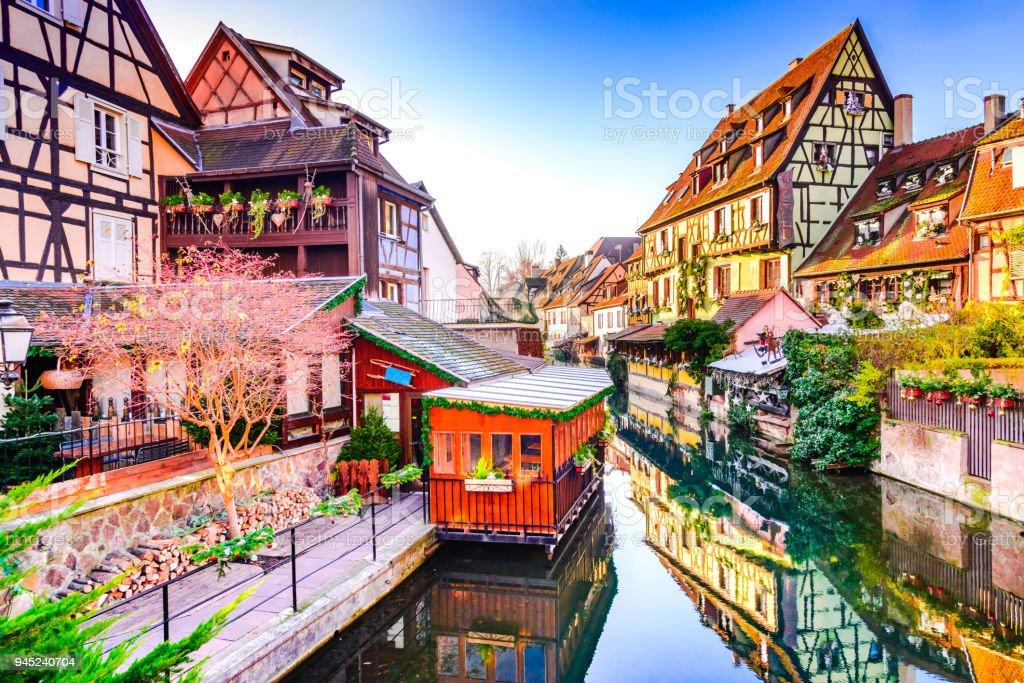 Elsass Karte Colmar.Colmar Alsace France Little Venice Stock Photo Download Image Now