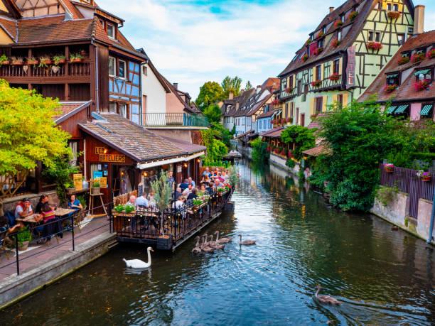 Colmar Petite Venice-Elsaß-Frankreich – Foto