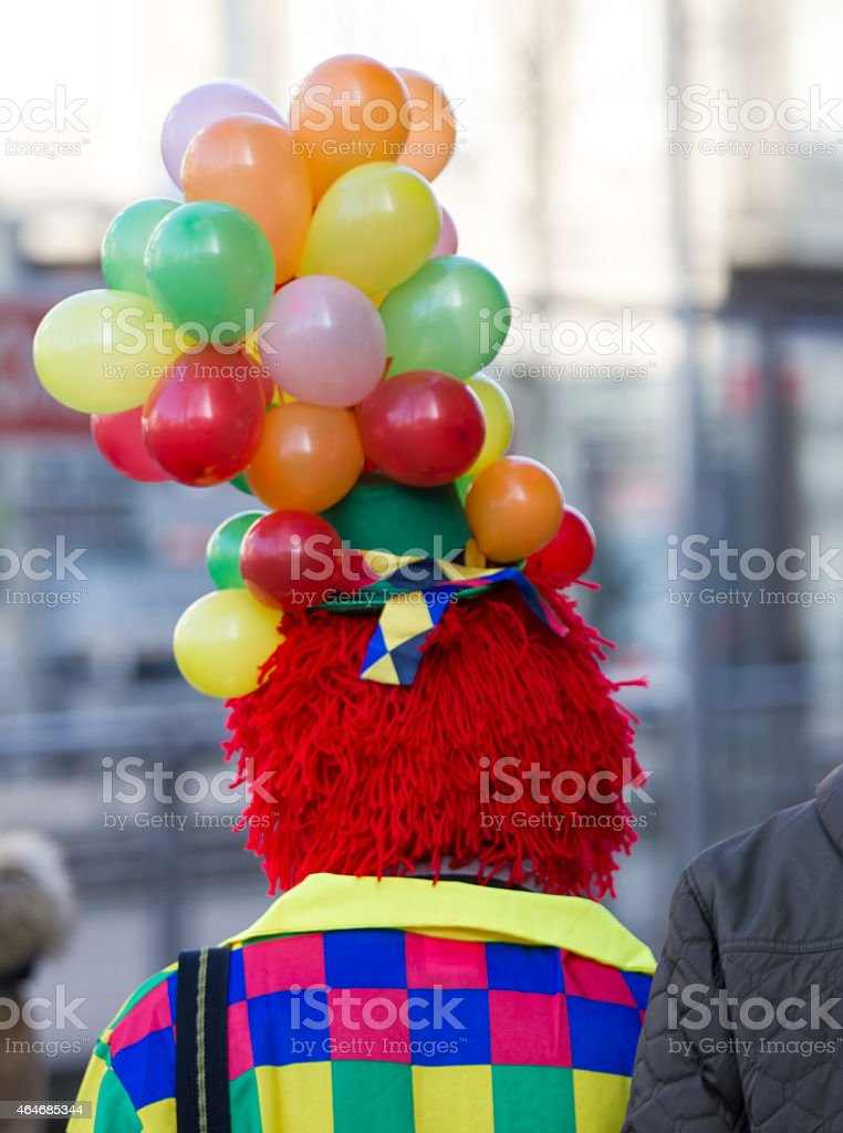 cologne carneval people background stock photo