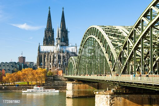 Cologne Cathedral and Hohenzollern Brigde