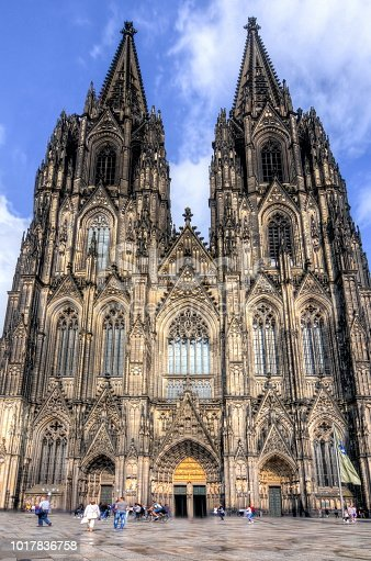 Cologne Cathedral facade, Germany
