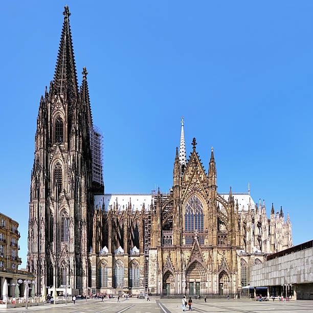 kathedrale von köln, deutschland - kölner dom stock-fotos und bilder