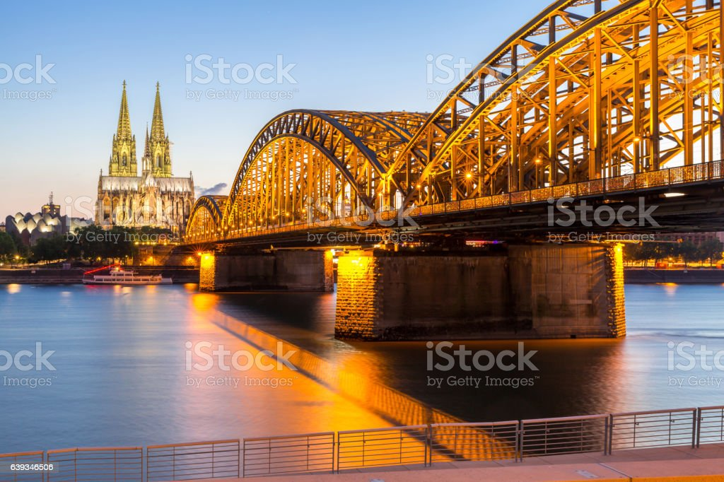 Cologne Cathedral Germany stock photo