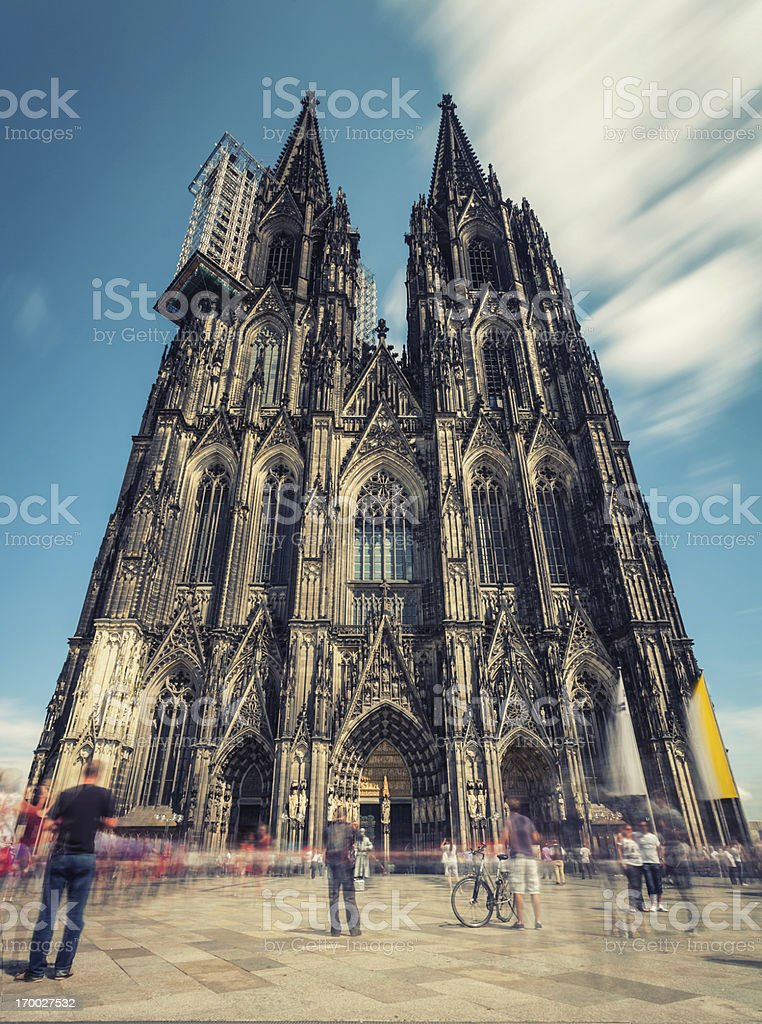 Cologne Cathedral in Germany stock photo