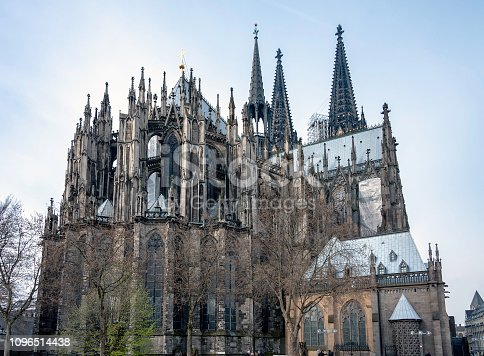 Historic Cathedral in  Cologne , Germany