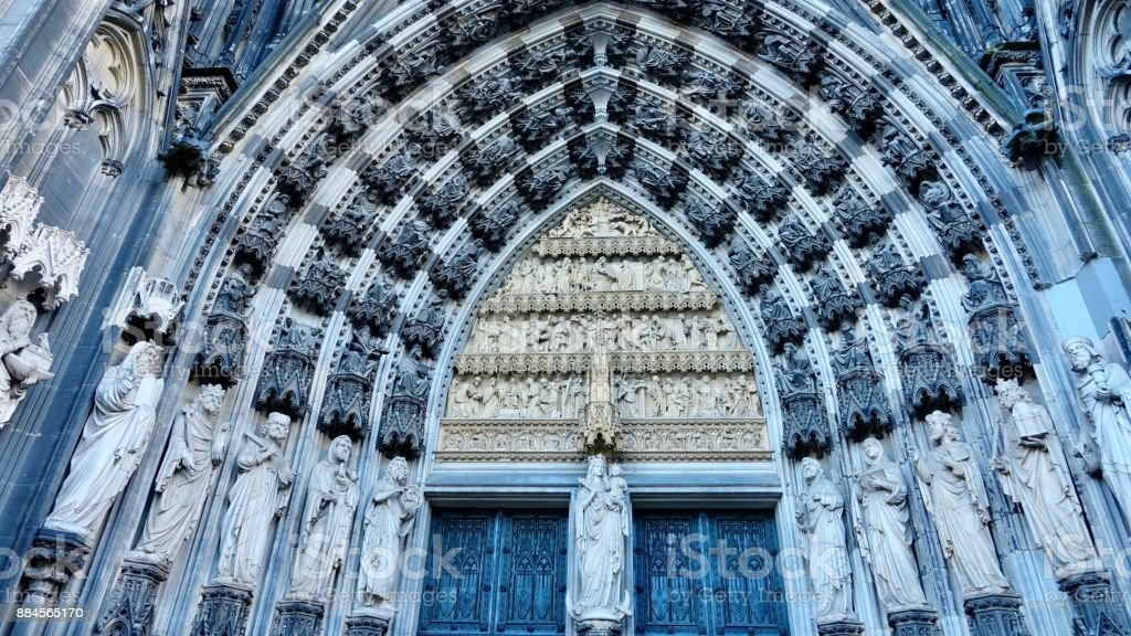 Cologne Cathedral stock photo