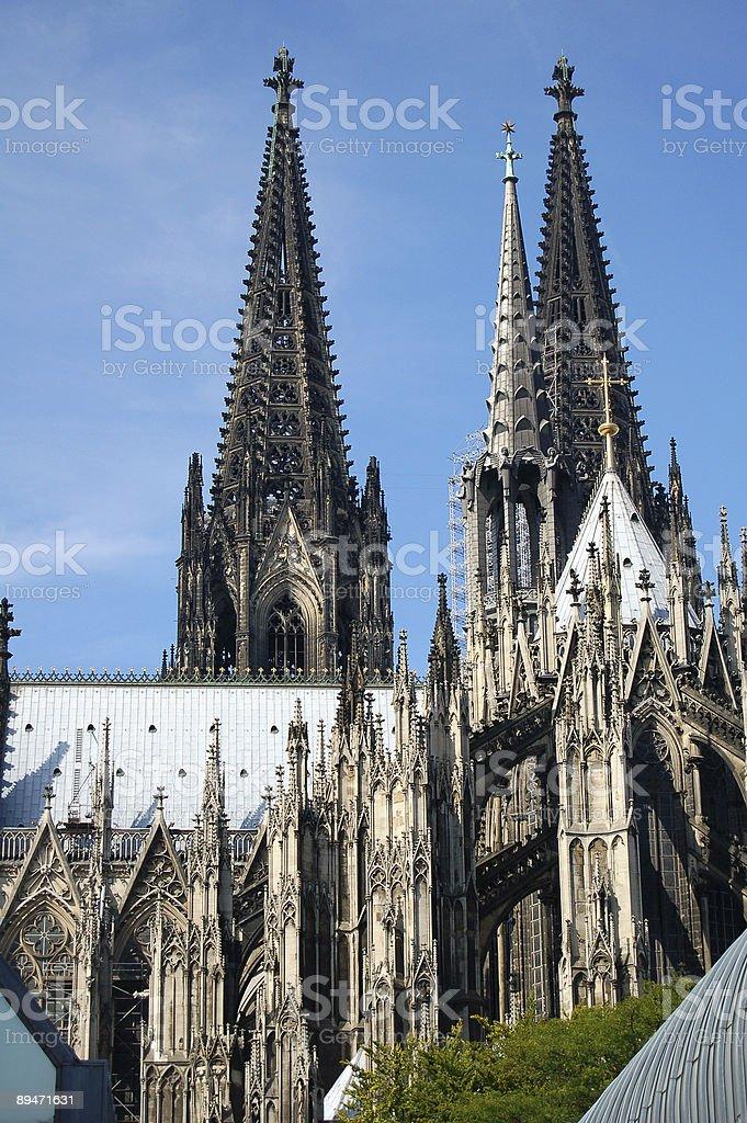 Kölner Dom Lizenzfreies stock-foto