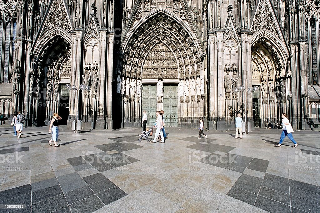 Cologne Cathedral-01 royalty-free stock photo