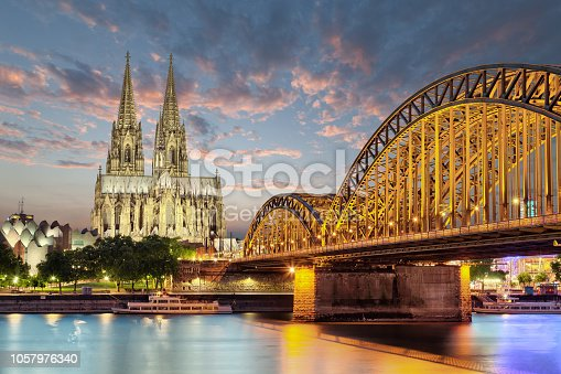 Cologne church cathedral german city