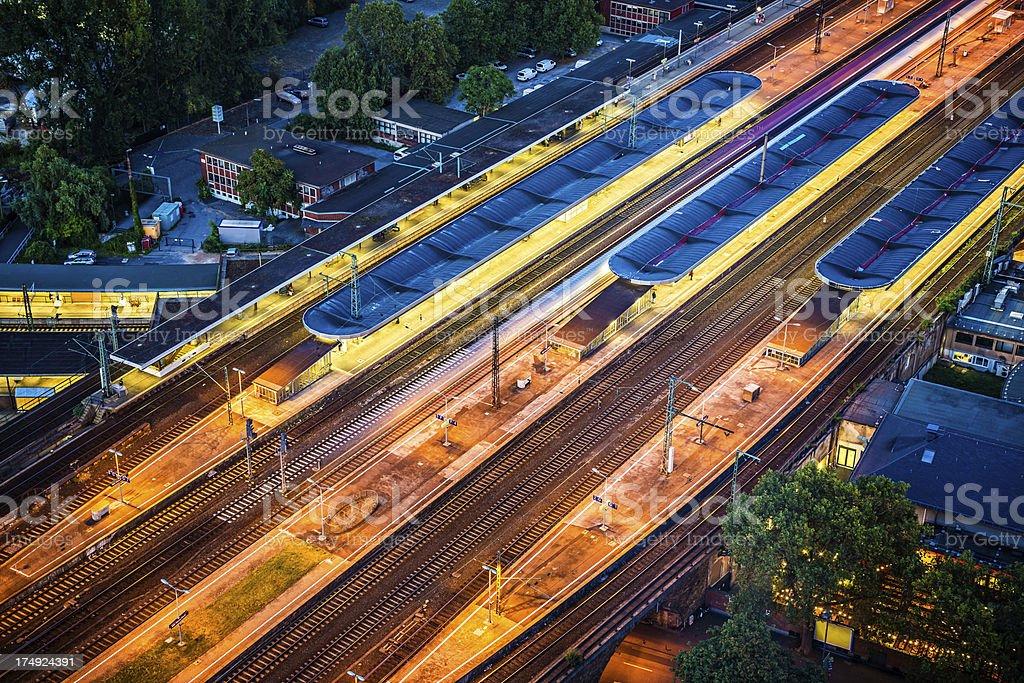 Cologne Fair (Koeln Messe)/Deutz railway station royalty-free stock photo