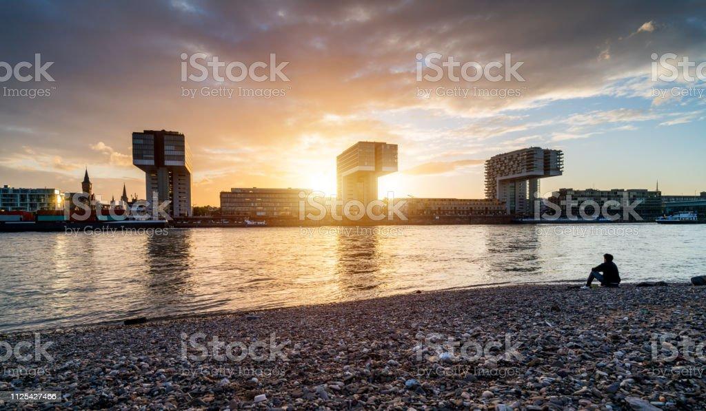 Köln, Deutschland - Lizenzfrei Architektur Stock-Foto