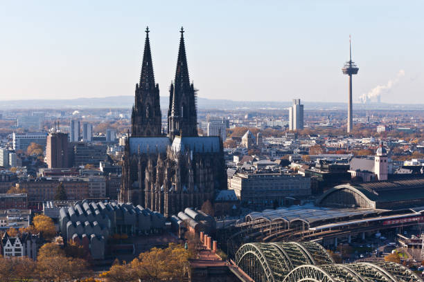Cologne Panorama stock photo