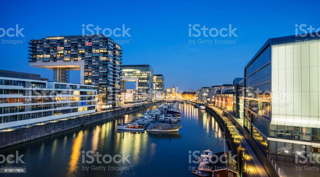 Kölner Rheinauhafen Hafen – Foto