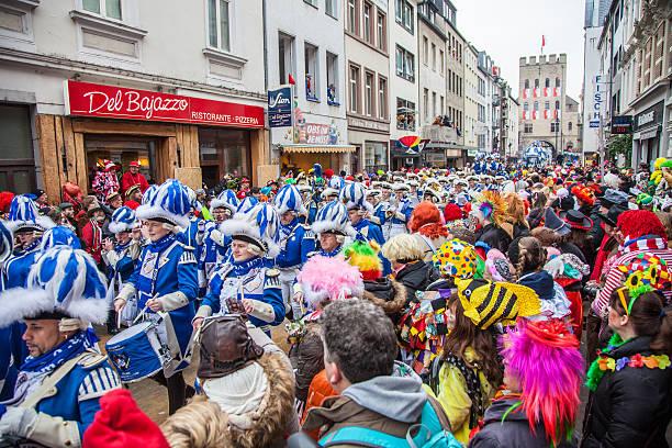 Cologne Rosenmontagszug 2015 stock photo