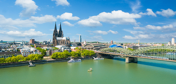Cologne Skyline Stock Photo - Download Image Now