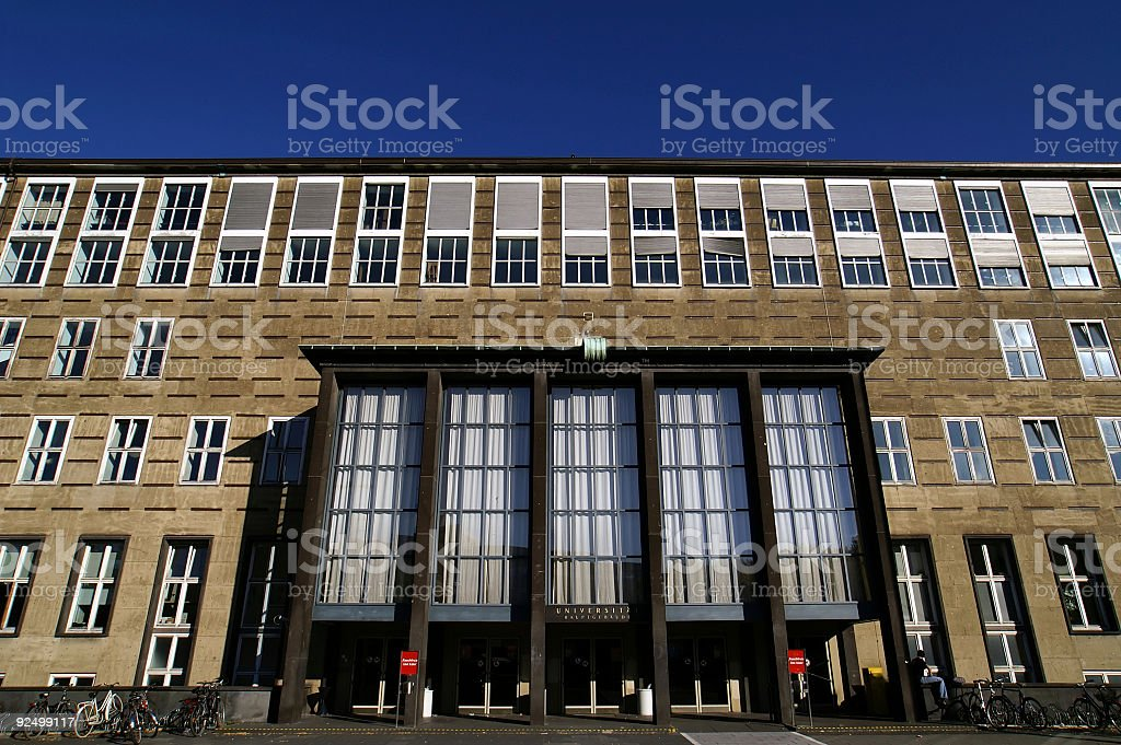 Cologne University royalty-free stock photo