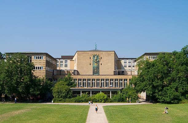 Cologne University stock photo