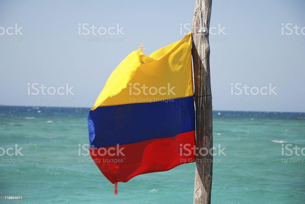 colomban flag stock photo