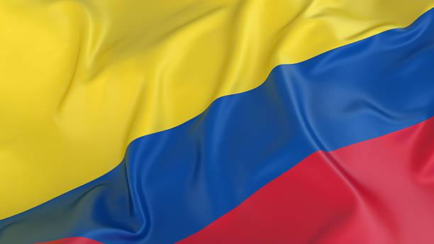 bandera colombiana - bandera colombiana fotografías e imágenes de stock