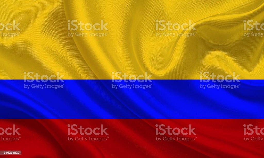 Bandera colombiana - foto de stock
