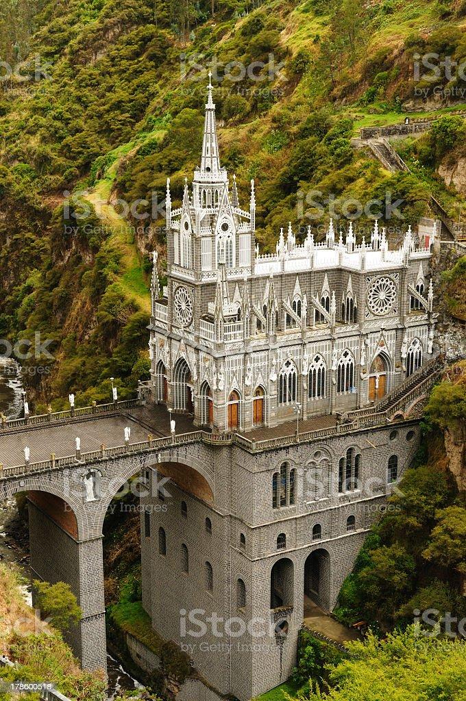 Colombia, Las Lajas royalty-free stock photo