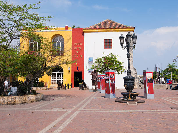 colombia - cartagena museum stock photos and pictures