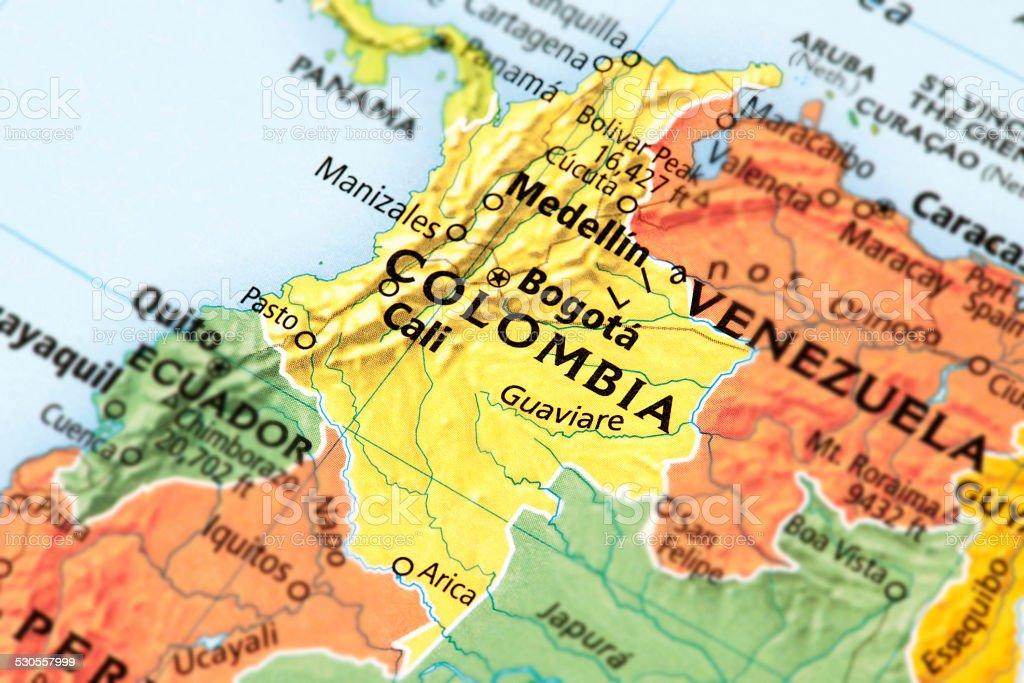 Colombia stock photo