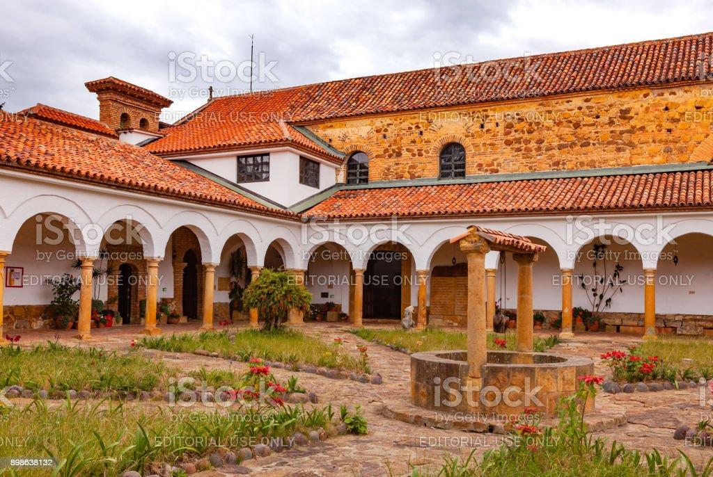 Colombia, South America - The 17th Century Monastery Of Santo Ecce Homo Near The Town Of Villa de Leyva In The Boyacá Department stock photo