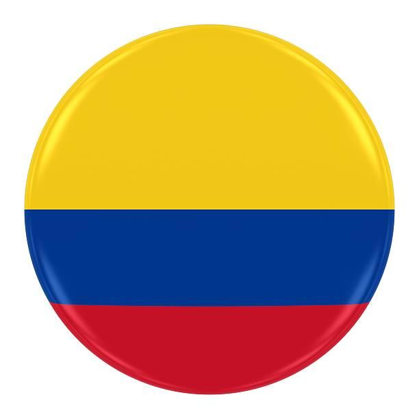 bandera colombiana tarjeta - bandera colombiana fotografías e imágenes de stock