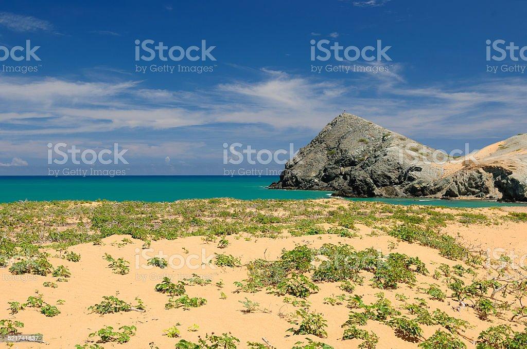 Colombian landscape stock photo