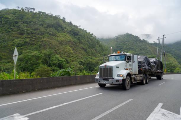 Kolumbianischer Landstraßenwagen – Foto