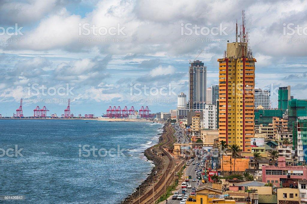 Colombo Cityscape, Sri Lanka stock photo