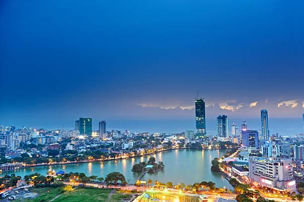 skyline von Colombo – Foto