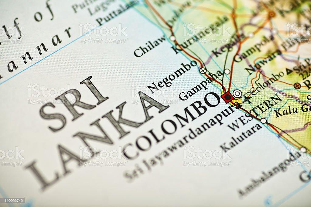 Colombo, Sri Lanka royalty-free stock photo