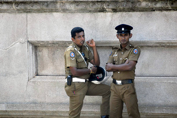 Colombo, Sri Lanka Polizei – Foto