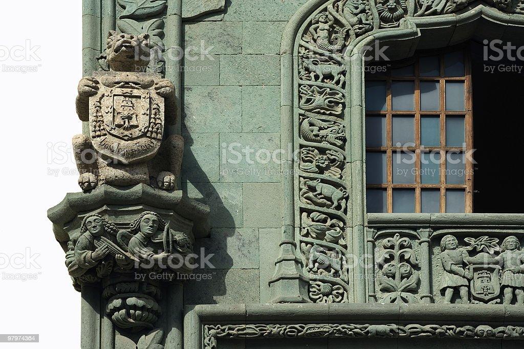 Colon House royalty-free stock photo