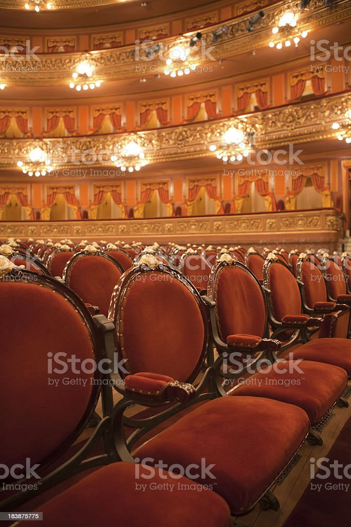 Colon Theatre royalty-free stock photo