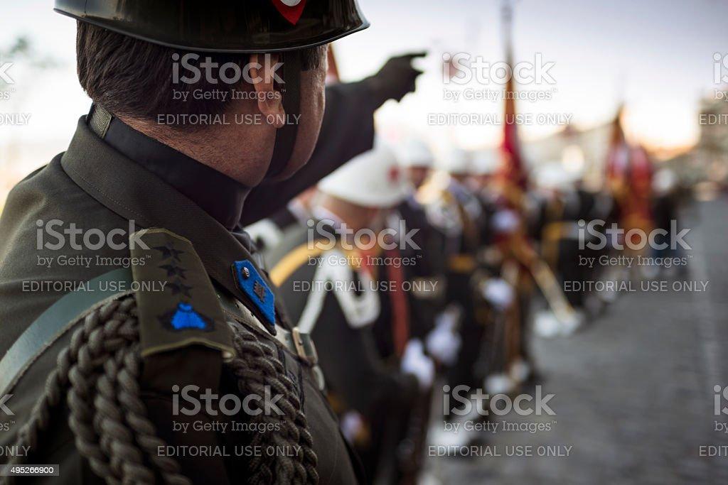 Colonel stock photo