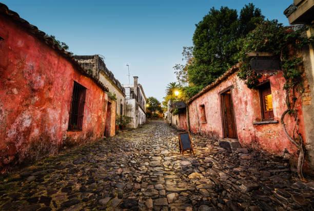 Colonia del Sacramento Uruguay stock photo