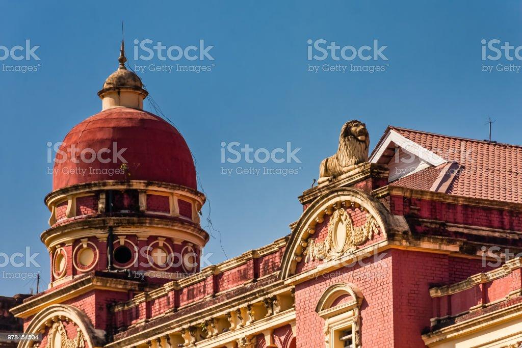 Britain colonial buildings
