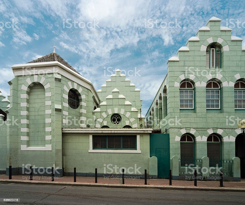 Colonial Architecture in Willemstad, Curacao, Netherlands Antilles