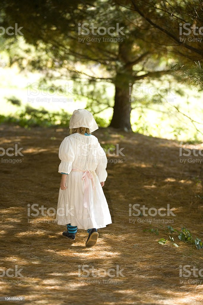 Colonial Child royalty-free stock photo