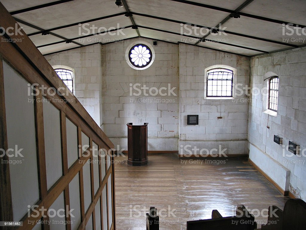 Colonial Church royalty-free stock photo